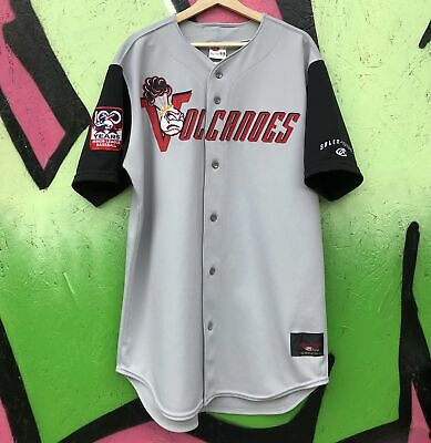 Rawlings Salem-Keizer Volcanoes Game Worn Team Issue Baseball Jersey Size 46