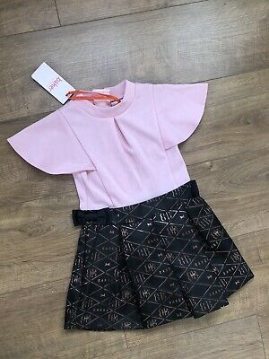 New Ted Baker Girls Playsuit Jumpsuit Outfit Size 5 Years rrp£40