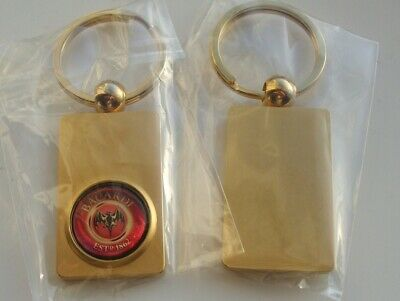 CUTTY SARK Scotch Whisky Ingot Type Gold FINISH KEY RING freepost in UK