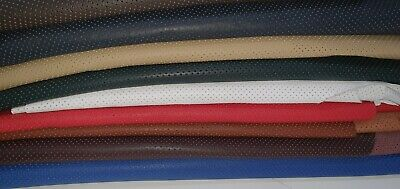 High Quality Perforated Genuine Leather * Off Cut * Sample* Patchwork