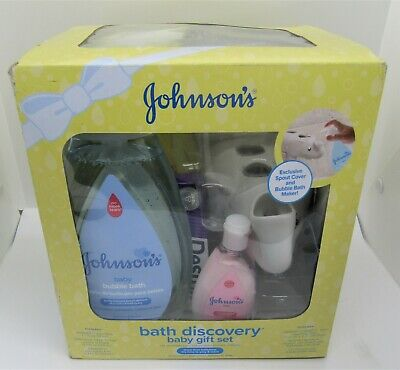 Johnson's Bath Discovery Baby Gift Set - Baby Shower gift pack!  New.
