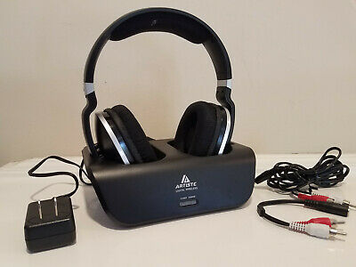 ARTISTE ADH300 2.4G Stereo Wireless Rechargeable Headphones * NEW Open Box