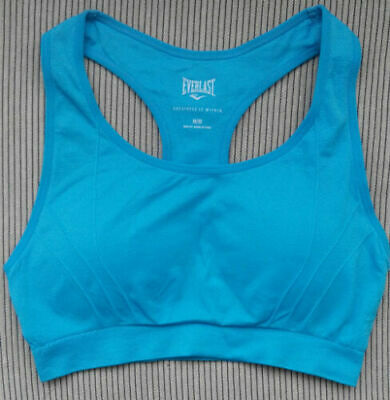 Special Everlast Womens Sport Bra Running Workout Yoga Padded Racerback SZ L/14