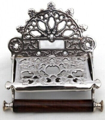 Decorative vintage style toilet roll holder. Thorness. Shipping Included