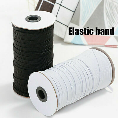 1mx 25mm Latex Stretch Flat Elastic Woven Sewing Tailor Dressmaking Craft