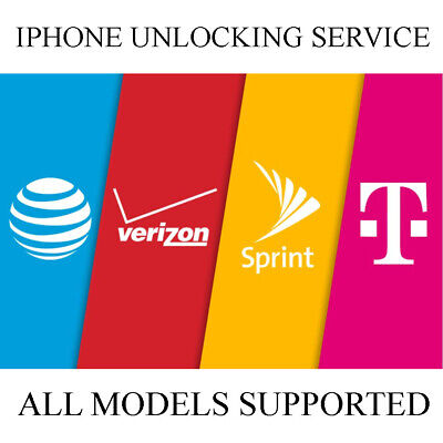 Factory Unlock Service Iphone At&T Sprint T-Mobile 7 8 8+ X Xr Xs Max 11 Pro Max