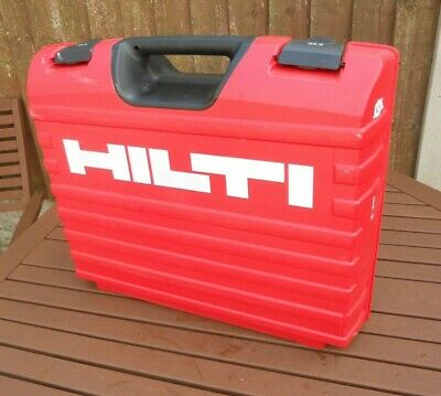 HILTI  GX3 nail gun Carry Case (EMPTY CARRY CASE ONLY)