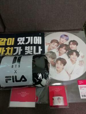 Bts Seoul Con Final Fila Blanket Fan Official Slogan