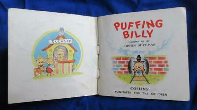 1954 1st. Edit. Puffing Billy A Pixie Book Illustrated By Justin Michman Collins