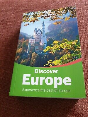Lonely Planet. Discover Europe Paperback Book 2015