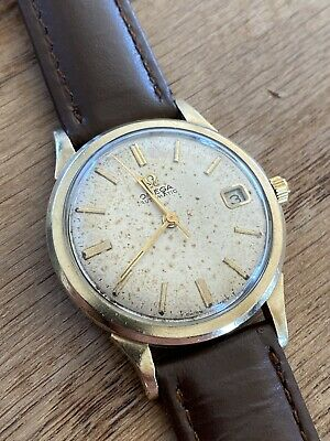 1968 1969 Vintage Omega Seamaster Gold Plated Automatic Gents Watch Cal 563