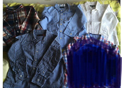 Smart Shirt 2-3 Long Sleeve Jasper Conrad Ben Sherman Next GRD M&S Bundle