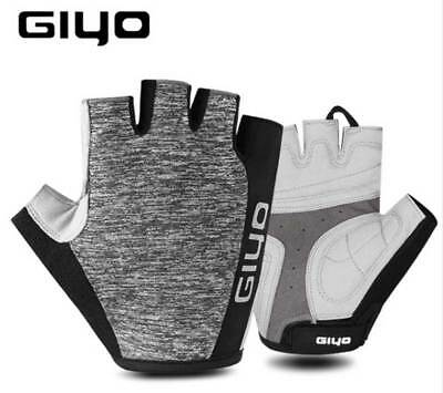 GIYO Cycling Gloves Half Finger Mens Women's Sports Shockproof Bike Gloves