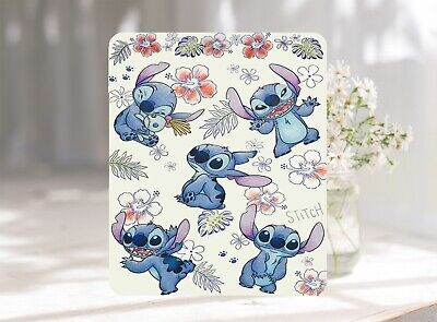 Floral Stitch Pattern Softable Anti-Slip Mouse Pad Mat 22 x 18 cm UK Seller