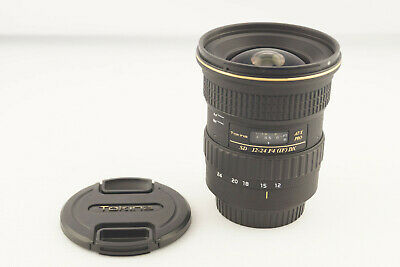 Tokina AT-X Pro AF 12-24mm F4 (IF) DX Canon Mount # 5307