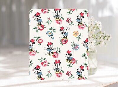 Floral Minnie Pattern Softable Anti-Slip Mouse Pad Mat 22 x 18 cm UK Seller