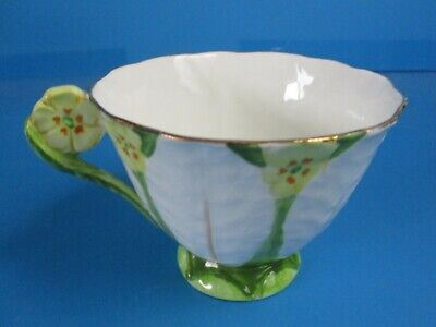 Atlas Bone China Tea Cup Only   Flower Handle Good Condition Old