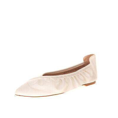 SILVIAN HEACH Balerina Flat Shoes Size 36 UK 3 US 6 Ruffle Side Pointed Toe