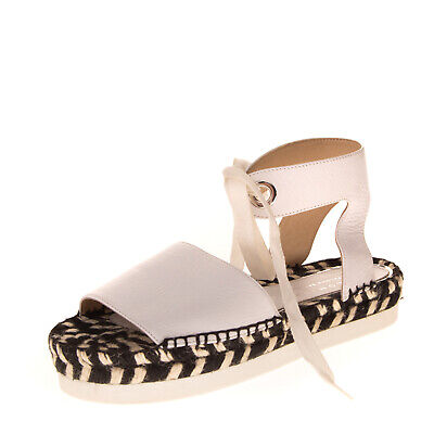 RRP €150 PALOMITAS BY PALOMA BARCELO Leather Ankle Strap Sandals EU 38 UK 5 US 8