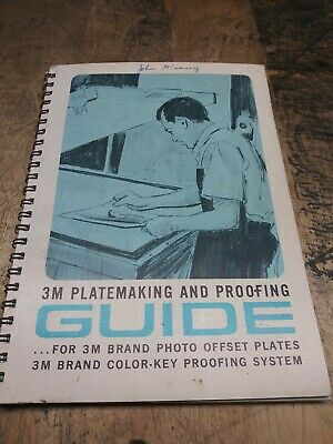 3M Guide of how to make a printing plate the traditional way