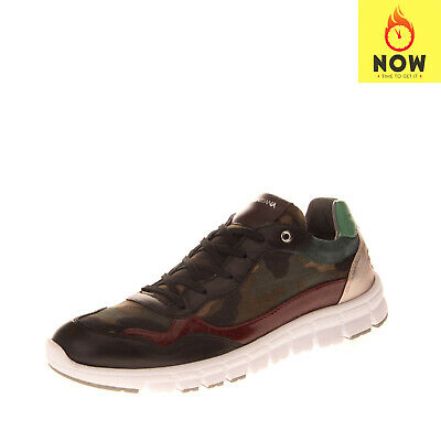 RRP€435 DOLCE & GABBANA Sneakers EU39 UK6 US9 Camouflage Pattern Multicolor