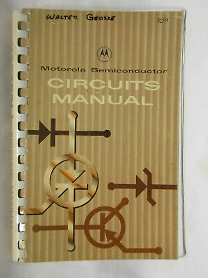 Motorola Semiconductor Circuits Manual, 1964, Nice Spiral Bound
