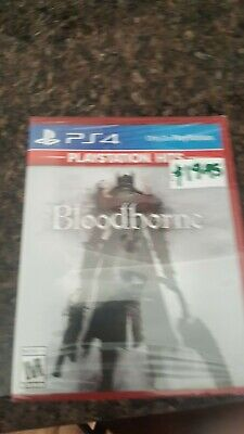 Bloodborne (Playstation Hits) PS4 (Sony PlayStation 4, 2015) Brand New