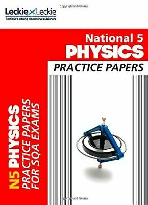Very Good, National 5 Physics Practice Exam Papers (Sqa National 5) (Practice Pa