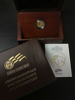 2008-W American Gold Buffalo Proof $5 1/10 Oz .9999