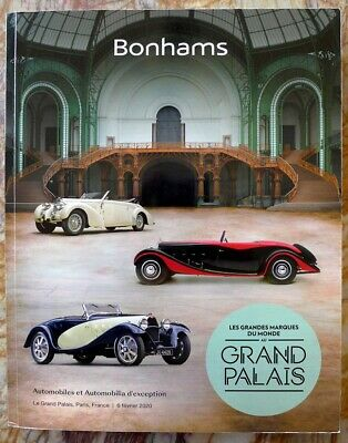 Bonhams Grand Palais Paris catalogue ~ February 2020