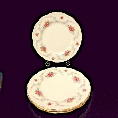 """Royal Albert Tranquility Lunch Plates 8 1/8"""" (4 pieces)"""
