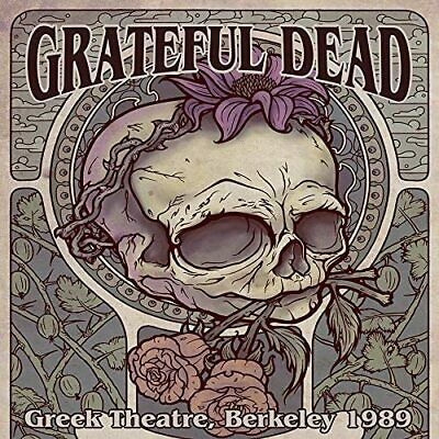 Grateful Dead Greek Theatre, Berkeley, 1989 Box 4 Cd Set New Phd (1St May)