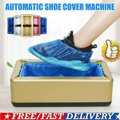 Automatic Shoe Cover Dispenser Machine Waterproof Home Cover Cleaning O5R6