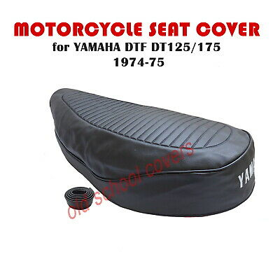 MOTORCYCLE SEAT COVER YAMAHA DTF DT125  DT175  1974-1975 & STRAP 620mm long