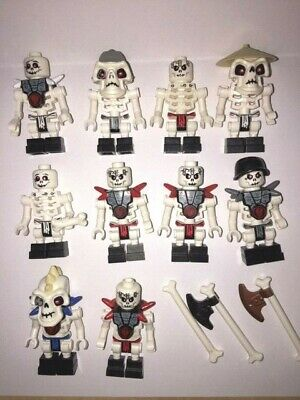 GENUINE - Lego Minifigure - Ninjago - Skeleton Army Bundle