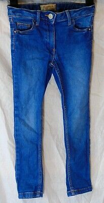 Girls Next Classic Mid Blue Vintage Look Denim Stretch Skinny Jeans Age 6 Years