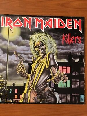 Iron Maiden Killers Metal Rock 1981