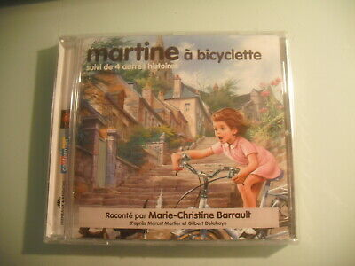 Martine-A-Bicyclette-4-Autres-Histoires-CD-neuf-Marie-christine-Barrault