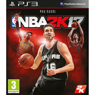Nba 2K17, Ps3 (Playstation 3), Castellano, Store España (No Disco) Digital