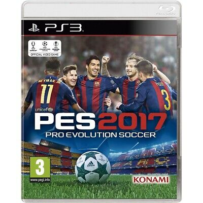 Pes 2017, Ps3 (Playstation 3), Castellano, Store España (No Disco)