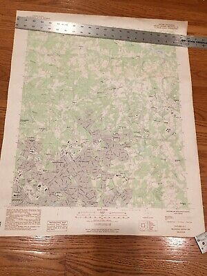 1983 Topographic Map Taylors GREENVILLE SC  Dept of Interior Geographical Survey