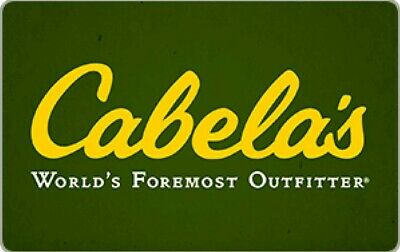 Cabela's $100 Gift Card [email delivery]