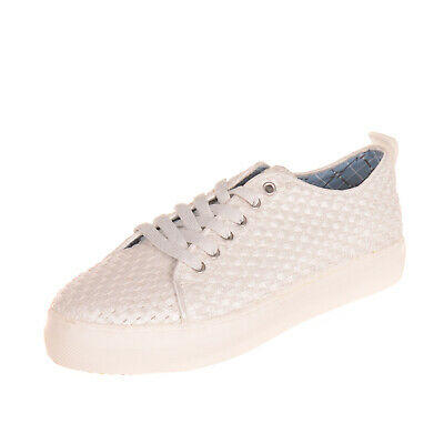 U.S.POLO ASSN. Sneakers Size 38 UK 4.5-5 US 6-6.5 Shiny Woven Laces Round Toe