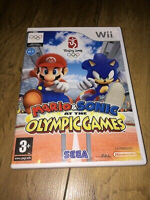 Mario&Sonic At The Olympic Games  Nintendo Wii