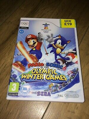 Mario&Sonic At The Olympic Winter Games Nintendo Wii