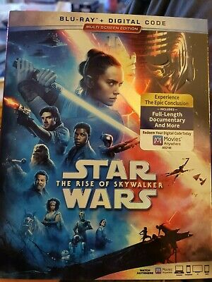Star Wars The Rise Of Skywalker - Blu-Ray + Digital Code brand new sealed