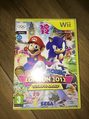 Mario&Sonic At The London 2012 Olympic Games Nintendo Wii