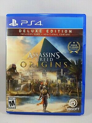 Assassin's Creed: Origins Deluxe Edition for Playstation 4, PS4