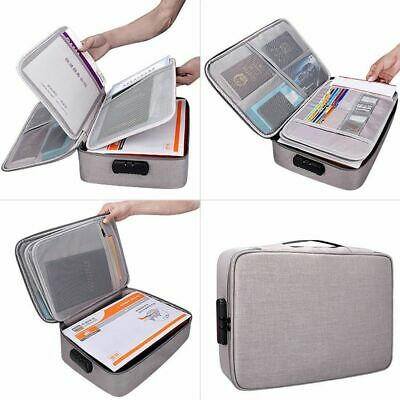 Ticket Bag Large Capacity Document Files Organizer Home Travel Store Important