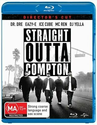 Straight Outta Compton (Blu-ray, 2018) NEW NOT SEALED REGION B FREE POST